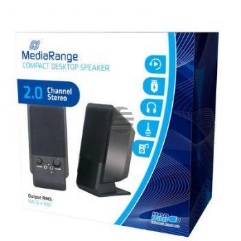 MEDIARANGE COMPACT DESKTOP LAUTSPRECHER MROS352 USB 2.0