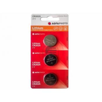 150-824420 AP LITHIUM-KNOPFZELLEN (3) CR2025 3Volt