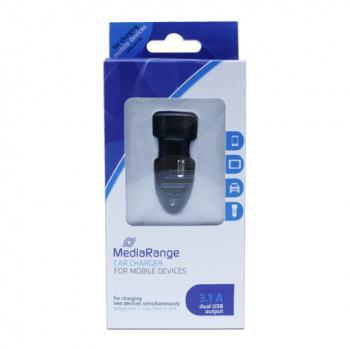 MEDIARANGE KFZ-LADEGERAET 3.1A MRMA103 3.1A Ladestrom mit Dual USB