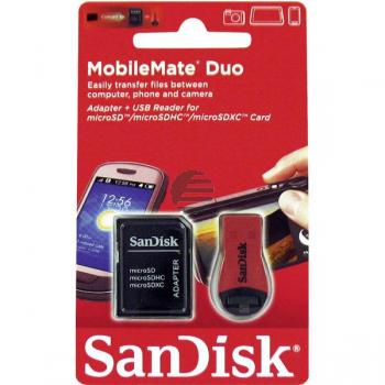 SANDISK MOBILEMATE DUO KARTENLESER SDDRK-121-B35 inkl. Adapter