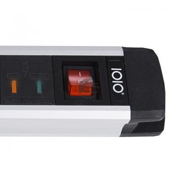 OLYMPIA STECKDOSENLEISTE 5FACH 41252 SL2520S mit Schalter