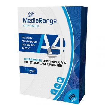 MediaRange Kopierpapier weiß 500 Blatt DIN A4 80 g/m² (MRINK110)