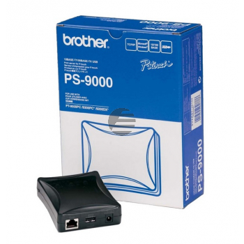 BROTHER PS9000 PTOUCH USB DRUCKSERVER PS9000Z1 USB 10Mb LAN