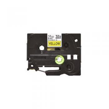 Brother Schriftbandkassette schwarz/gelb (TZE631S)