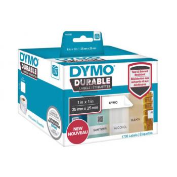 1933083 DYMO 25x25mm WEISS KUNSTSTOFF(2) 2Rl/850Stk LW Adress-Etiketten permanent