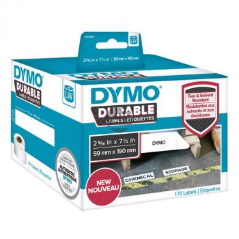 1933087 DYMO 59x190mm WEISS KUNSTSTOFF 1Rl/170Stk LW Adress-Etiketten permanent
