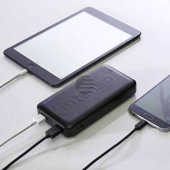 INTENSO POWERBANK HC20000 SCHWARZ 7332550 20.000mAh USB 3.0 Typ C
