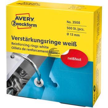 Avery Zweckform Lochverstärkungsringe weiß (3508)