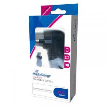 MEDIARANGE KFZ-LADEGERAET 2.1A MRMA102 1.0A Ladestrom mit Micro USB