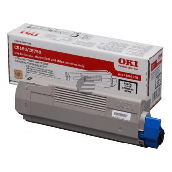 OKI Toner-Kit schwarz (43865708)