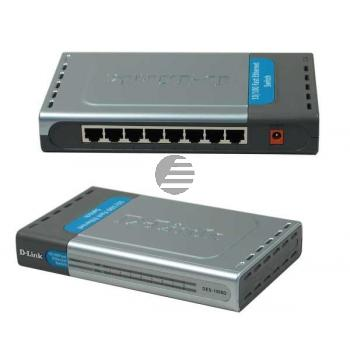 D-Link Switch 8-Port 10/100