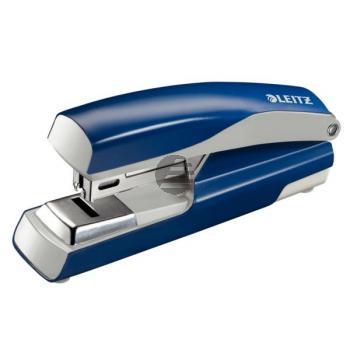 Leitz Heftgerät 5505 blau Flat-Clinch manuell 3,0 mm/30 Blatt 24/6 26/6