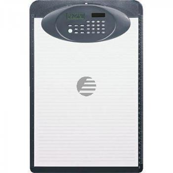 Ecobra Schreibplatte + Rechner schwarz Solarrechner 350 x 230 x 30 mm