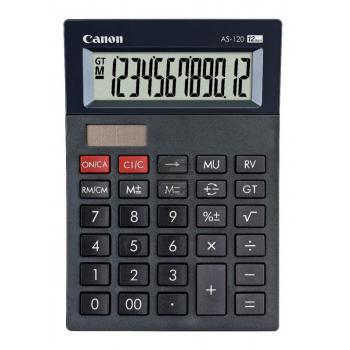 Canon Tischrechner AS120 12-stellig