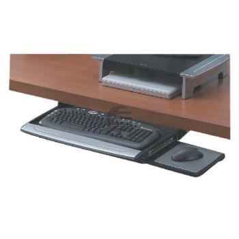 Fellowes Tastaturschublade Office Suite mit Mausablage schwarz/silber