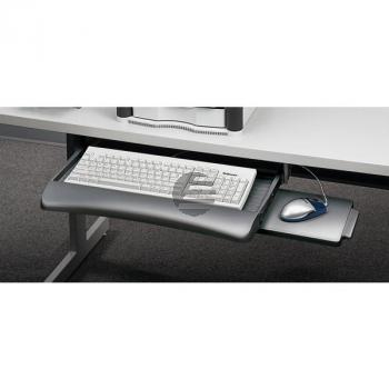 Fellowes Tastaturschublade Untertisch graphit
