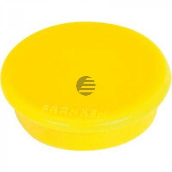 Franken Haftmagnet 13 mm gelb Haftkraft: 100 g