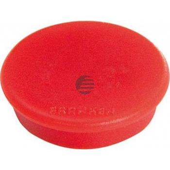 Franken Haftmagnet 13 mm rot Haftkraft: 100 g