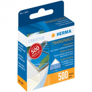 Herma Fotoecken Inh.500 Transparol