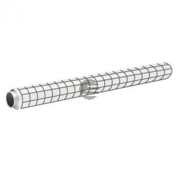 Leitz Easyflip Foil weiß PP blanko Perforation nach 800 mm