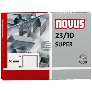 Novus Heftklammern 23/10 Super Inh.1000