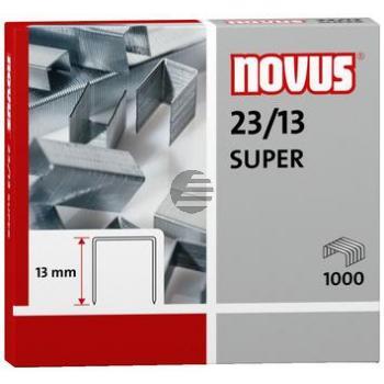 Novus Heftklammern 23/13 Super Inh.1000