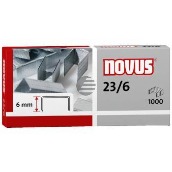 Novus Heftklammern 23/6 Inh.1000