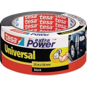 Tesa Reparaturband Extra Power Universal 50 mm x 25 m schwarz