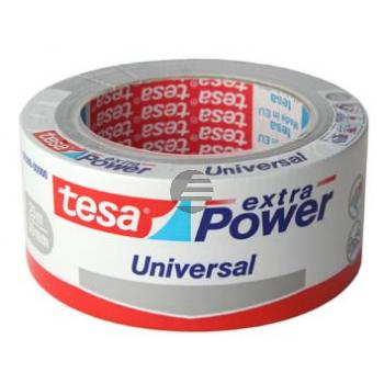 Tesa Reparaturband Extra Power Universal 50 mm x 25 m silber