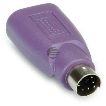 Value PS2 auf USB Stecker - Buchse Tastaturadapter