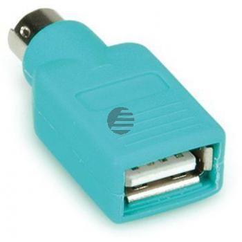Value PS2 auf USB Stecker - Buchse Mausadapter
