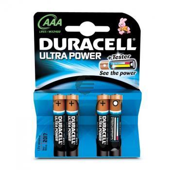 Duracell Batterie Ultra Power Micro AAA 4er-Pack 1,5 V Alkaline