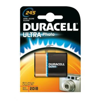 Duracell Foto-Batterie Ultra 2CR5/DL245 6 V Lithium