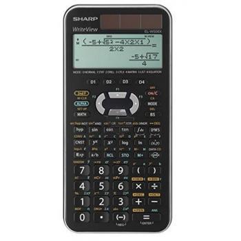 Sharp Taschenrechner EL-W506XSL 4-zeilig solar/Batterie