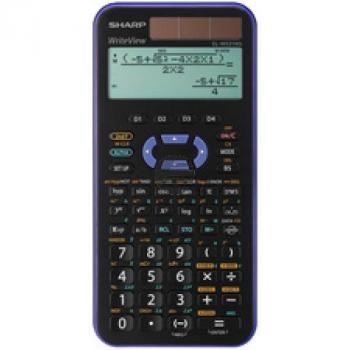 Sharp Taschenrechner EL-W531XGVL 4-zeilig solar/Batterie