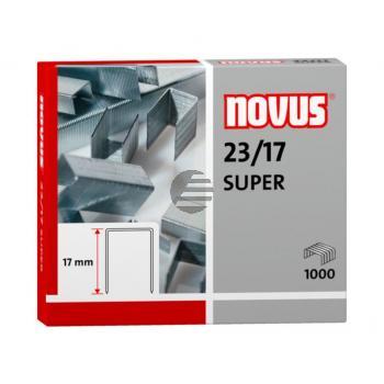 Novus Heftklammern 23/17 Super Inh.1000