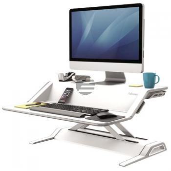 Fellowes Schreibtisch Sitz-Steh Workstation weiß (0009901)