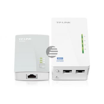 TP-LINK WLAN Powerline Repeater Kit TLWPA4220 300Mbps