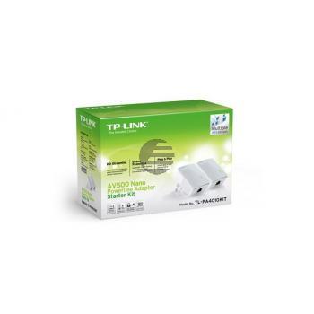 TP-LINK Nano Powerline Adapter TLPA4010K 500Mbps Starter Kit