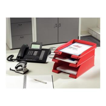 LEITZ Plus Briefkorb, Jumbo A4 52330025 rot