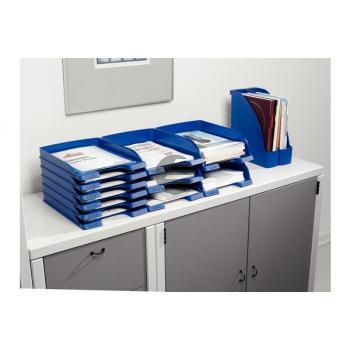 LEITZ Plus Briefkorb, Jumbo A4 52330035 blau