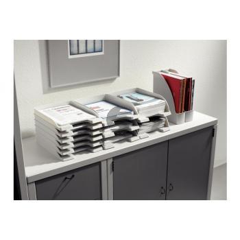 LEITZ Plus Briefkorb, Jumbo A4 52330085 grau
