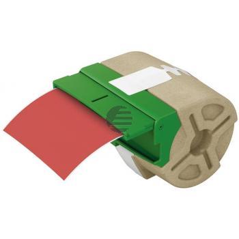 LEITZ Endlosettiket.Kassette PP 70160025 88mmx10m rot permanent